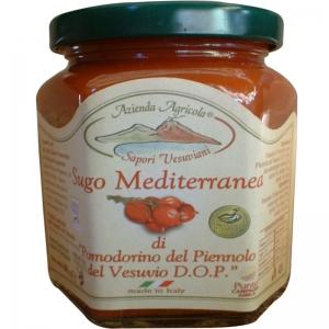 Sugo Mediterranea con Pomodorini del Vesuvio | Piennolo