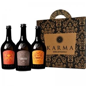 Birra Artigianale Karma Idea Regalo (Tris Bottiglie 75 Cl)