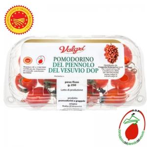 Pomodorino del Piennolo del Vesuvio (Gr. 250) sgrappolato