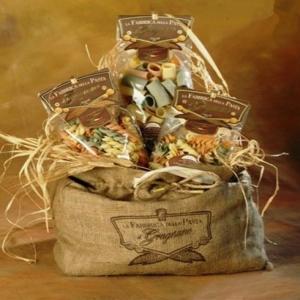Sacco di Juta con Pasta Artigianale