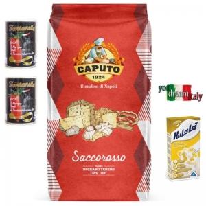 Kit Farina Caputo Rossa Rinforzata
