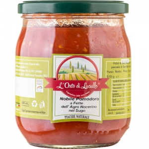 Nobile Pomodoro Campano a fette nel sugo 580 ml