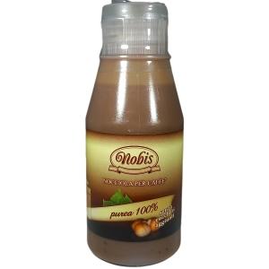 Topping alla Nocciola Purea per caffè Gr. 120 - Nobis Nocciole