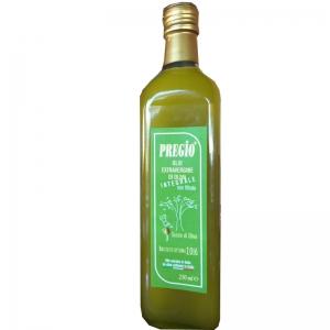 Olio Pregio integrale Extra vergine non filtrato