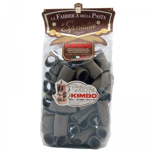 Paccheri striped at coffee Kimbo 500 Gr.