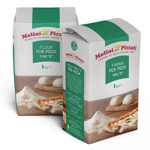 "Farina Pizzuti ""0"" per pizza Kg. 1"