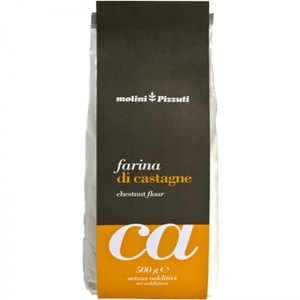 Farina Di Castagne Mulini Pizzuti 500 Gr