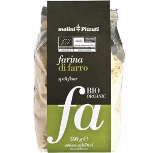 harina de espelta Mulini Pizzuti 500 Gr