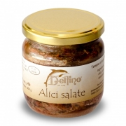 Alici di Cetara sotto sale 446ml
