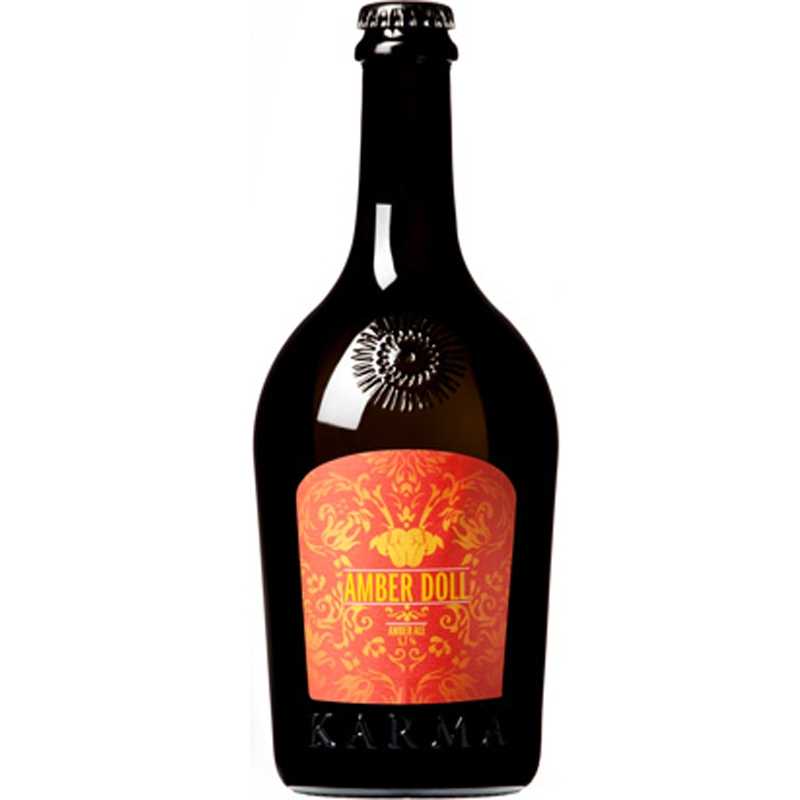 Craft Beer Amber Karma Doll 75 Cl