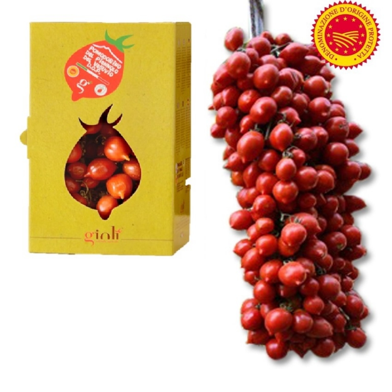 TOMATO Piennolo VESUVIUS DOP Kg. 1.5 Packaged - Available from September 2019