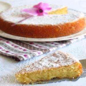 Torta Caprese a Limone (KG. 1)