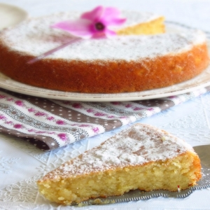 Torta Caprese mit Zitrone (KG. 1)