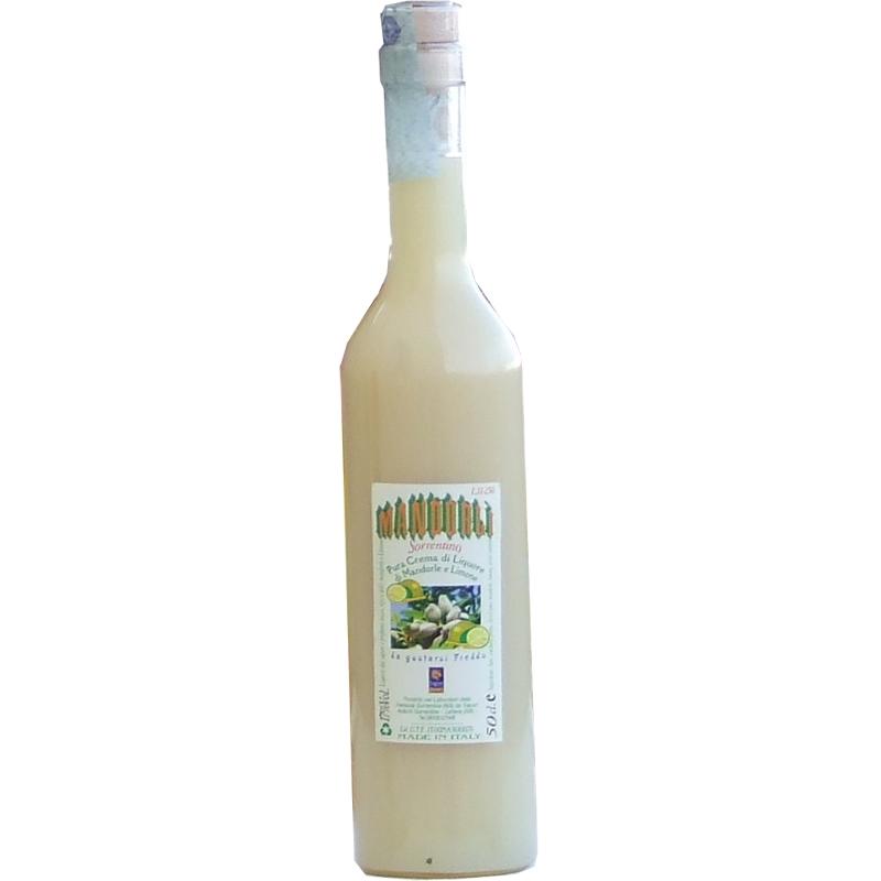 Lemon and almond cream 17% - 500 ml -