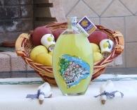 Künstlerische Flasche Limoncello (Sorrento)