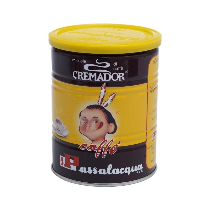 Caffè Cremador Gr. 250 in latta Passalacqua (Gusto corposo)
