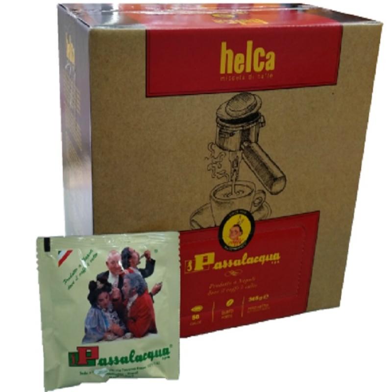 Cialde Passalacqua HELCA - GUSTO FORTE - Box 50 CIALDE
