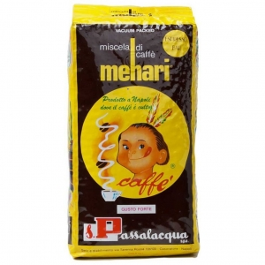 Passalacqua granos de café MEHARI Kg 1 x 6 PIEZAS
