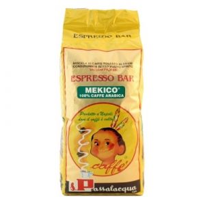 Passalacqua coffee grains MEKICO  1 Kg.