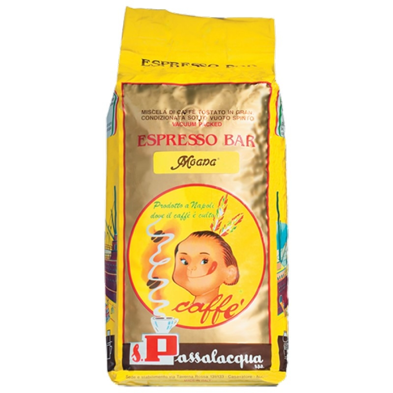 Caffè Passalacqua Grani MOANA Kg 1 x 6 PEZZI (Trasporto Gratuito)