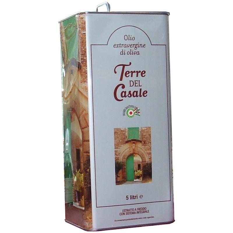 Aceite Oliva Virgen Extra 5 Lt - Terre del Casale -