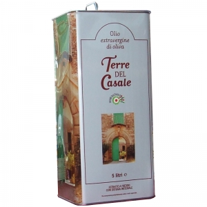 Extra Virgin Olive Oil 5 Lt - Terre del Casale -