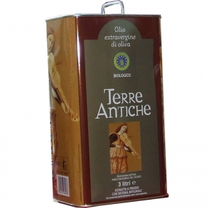 Organic Extra Virgin Olive Oil LT 3 - Terre Antiche -
