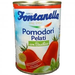 Tomates pelados 500 Gr de apertura fácil por Basil