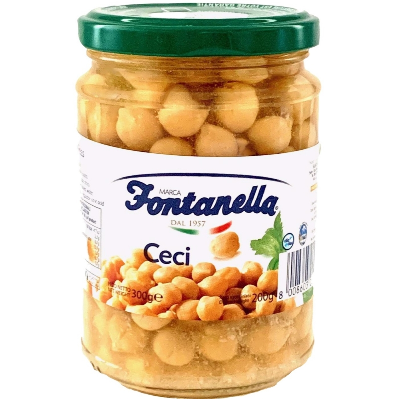 Chick peas - 600 Gr Glass