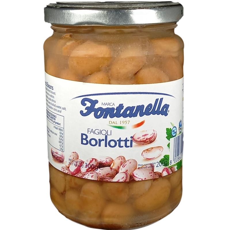 Fagioli Borlotti - 600 Gr. in Vetro