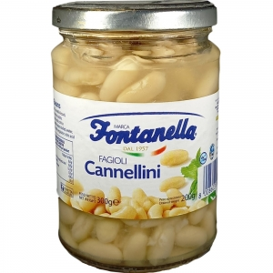 Cannellini Beans - 600 Gr Glass