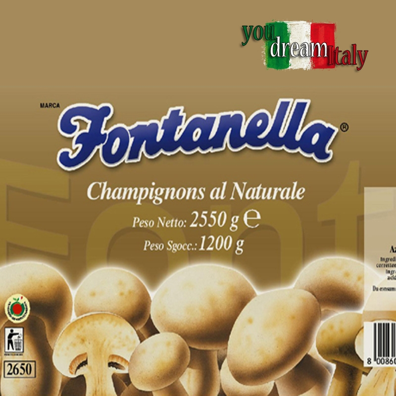 FUNGHI CHAMPIGNONS - 3000 Gr.