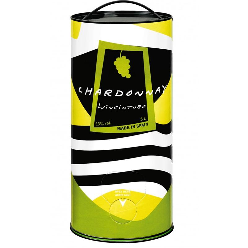 vino español Chardonnay 3 Lt