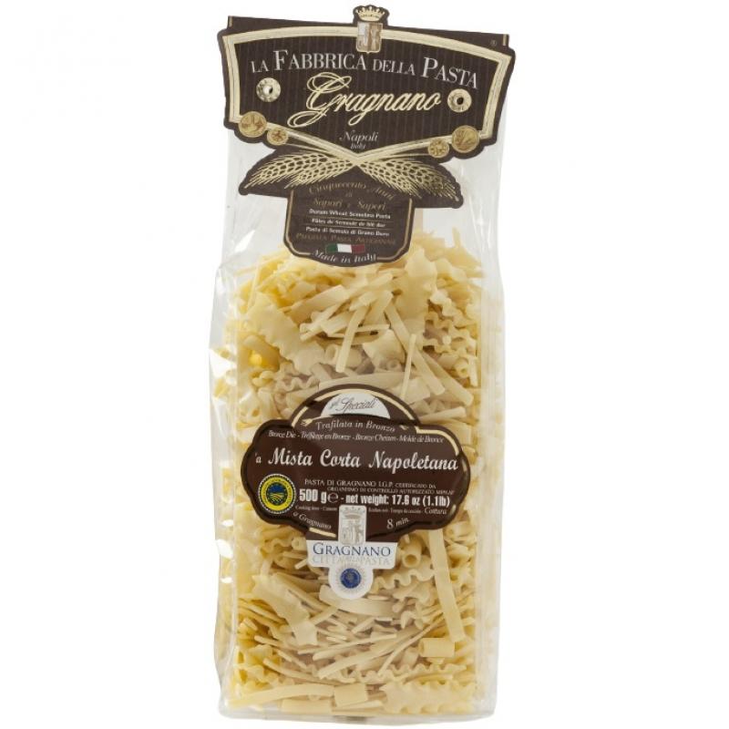 Pasta mezcla napolitana corto IGP 500 Gr.