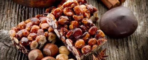 Crunchy almond nougat 250 Gr