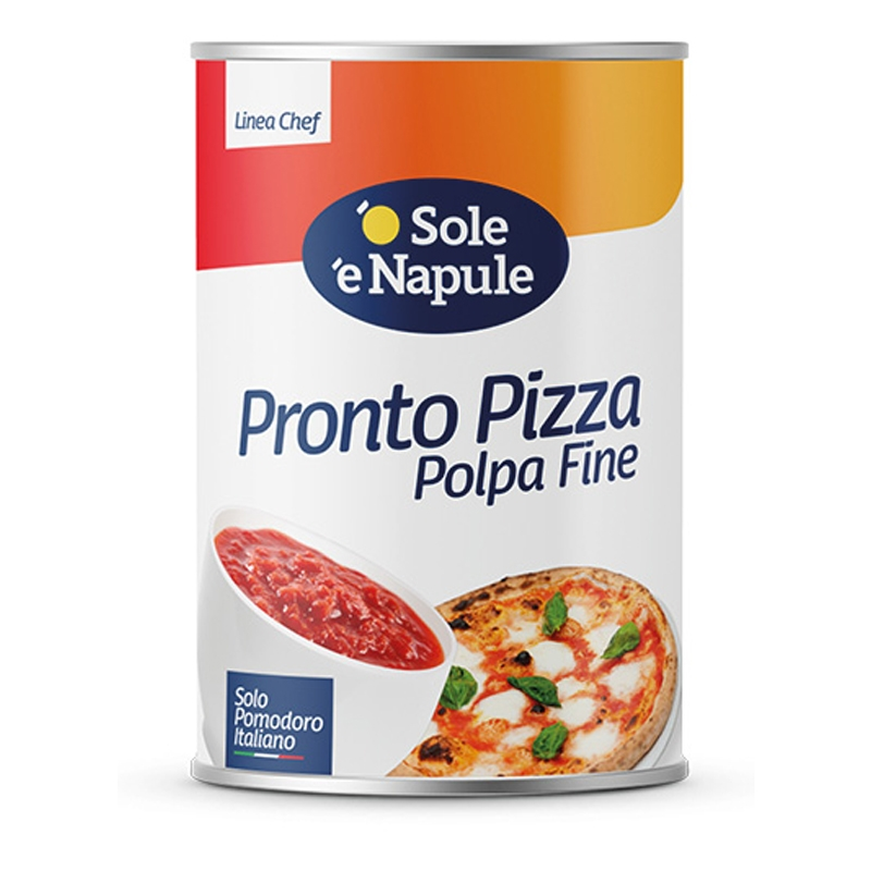 Chopped dünne Pronto Pizza 4050gr
