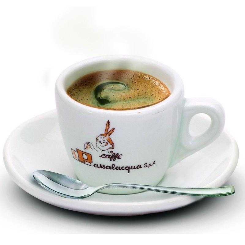Set Tazzina + Piattino per caffè Passalacqua (6 Pezzi)
