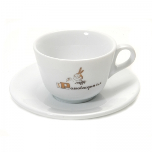 Kit Cup + Saucer for cappuccino Passalacqua (6 Pieces)