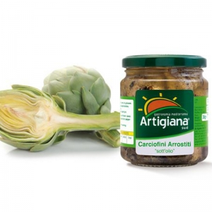 Roasted artichokes 540 gr