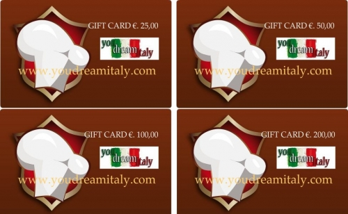 Gift Card - Give a Gift Certificate from €. 100.00