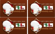 Gift Card - Dar un certificado de regalo a partir de €. 100.00