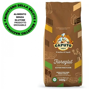 Farina Caputo Fioreglut - Kg. 1 - Senza Glutine