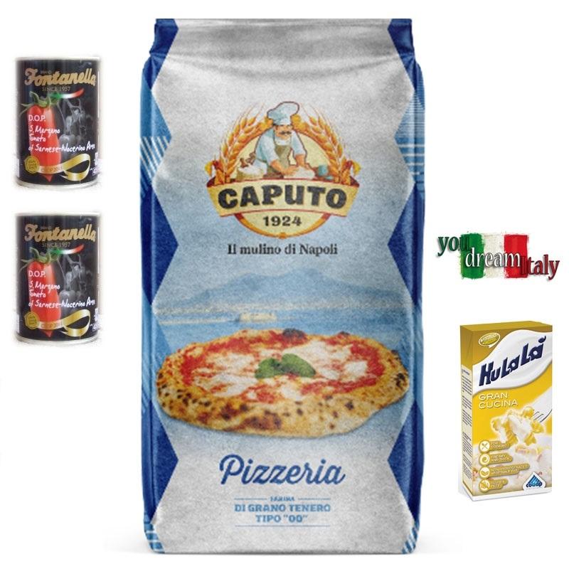 Kit Caputo Harina Blu Pizzeria