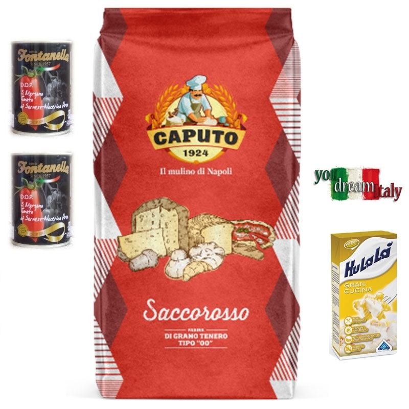 Kit Caputo Harina Rojo Blindada