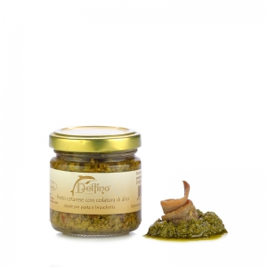 Pesto cetarese with anchovy sauce 110ml