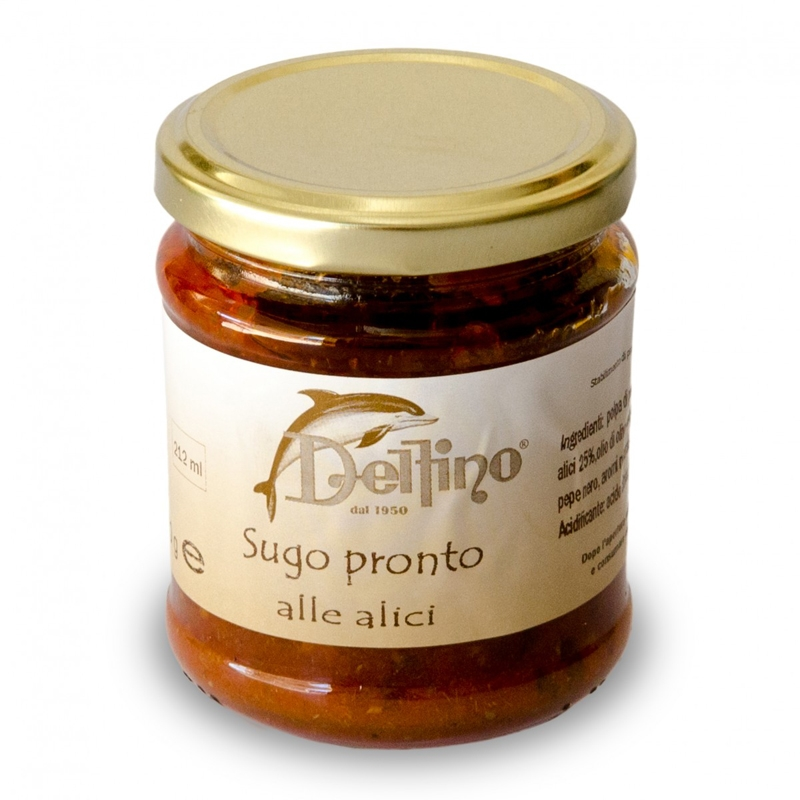 Sugo pronto alle Alici di Cetara 212 ml