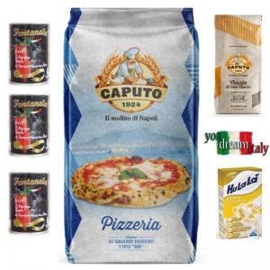 Kit Harina Caputo Azul Pizzeria con Criscito