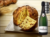 Panettone traditionnel Artisanat + Ferrari Brut 75 cl