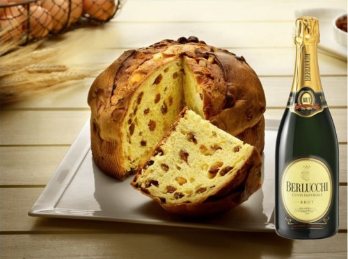 Panettone traditionnel Artisanat + Berlucchi 75 cl