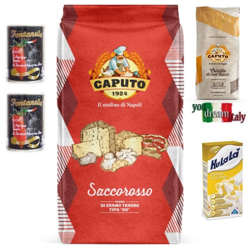 Kit Farina Caputo Rossa Rinforzata con Criscito